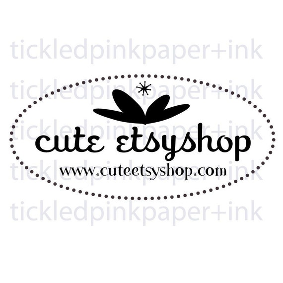 Custom stamp for your etsy shop or handmade item