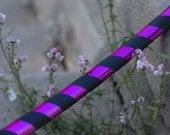 Mystic Hoops - Gothic Purple Heart Hoop -  Hoopdance Hooping