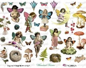 wHiMsiCaL fAiRiEs - Digital Collage Sheet (no 269)