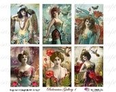 BoHeMiAn GaLLeRy - ATC - Digital Collage Sheet (no 260)