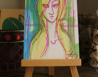 ART CARDS NO 34 Muse