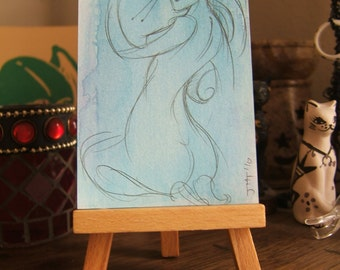 ART CARDS No. 31- Swish I