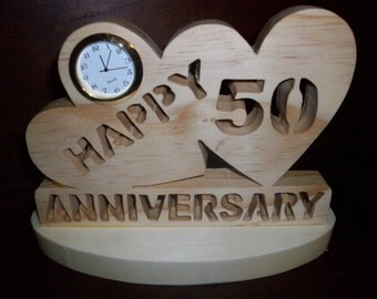 50th Anniversary Mini clock