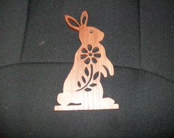 Wooden handmade bunny rabbit