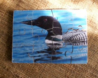 Wooden Loon jigsaw puzzle