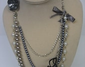 Vintage Faux Pearl CoCo Chanel-inspired necklace