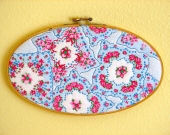 Handkerchief--Fabric Art