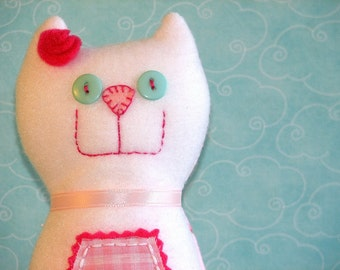 Rose the Kitty - On Sale - Was 18.00