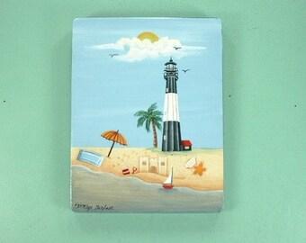 Vacation Beach Lighthouse Decorative Art 675