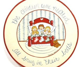 Christmas Visions for Kids Handpainted Wooden Plaque 220