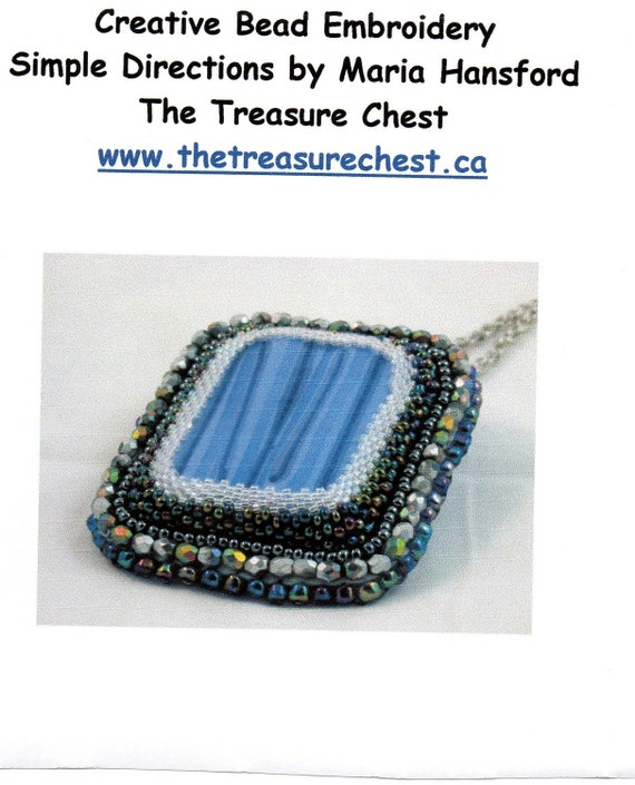 Items similar to creative bead embroidery tutorial on etsy