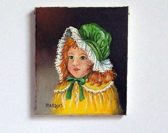 Miniature Painting of a Child