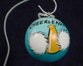 CHEERLEADER Ornament Personalized FREE