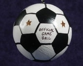 SOCCER Ornament Personalized