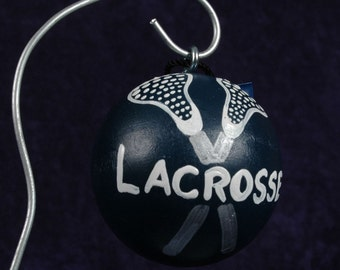 LACROSSE Ornament Personalized FREE
