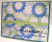 Handmade Happy Birthday