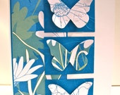 Blue Butterfly All Occasion Card