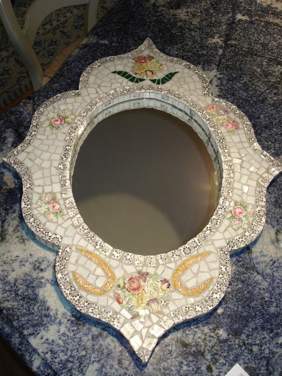 Mosaic Medium Mirror