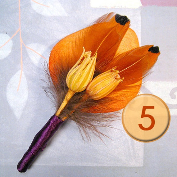 Cork Boutonniere: Unavailable Listing On Etsy