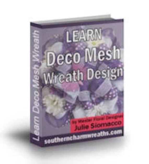 DIY Deco Mesh Wreath Design Bundle