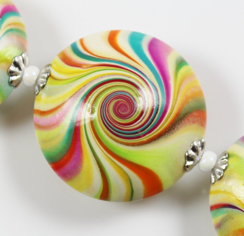polymer clay swirl polymer clay swirl
