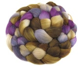 Polwarth Combed Top aka Roving for spinning or felting - Minotaur