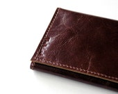 Leather Wallet - RUSTIC - Double Browns Trifold