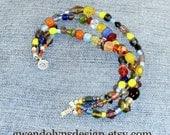 LUCKY 3 strand Bracelet Kaleidoscope