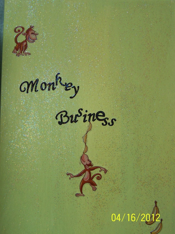 A lot of Monkey Business Memory Box