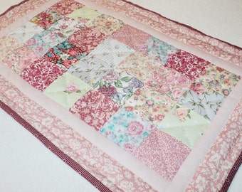 Chic Pink Quilted Placemat