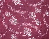 Gettysburg Remembrance 7048-14 - Burgundy Floral Civil War Reproduction Fabric by Sara Morgan for Blue Hill -  1 Yard