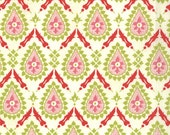 Hello Luscious Floral Jalapeno in Inviting Fabric  by Basic Grey for Moda 30288-21 - 1 Yard