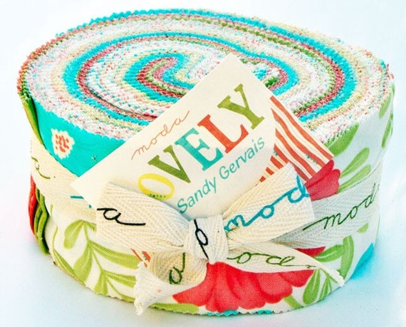 MODA Lovely Jelly Roll by Sandy Gervais