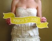 Custom Large Banner No. 2 Wedding Photo Prop