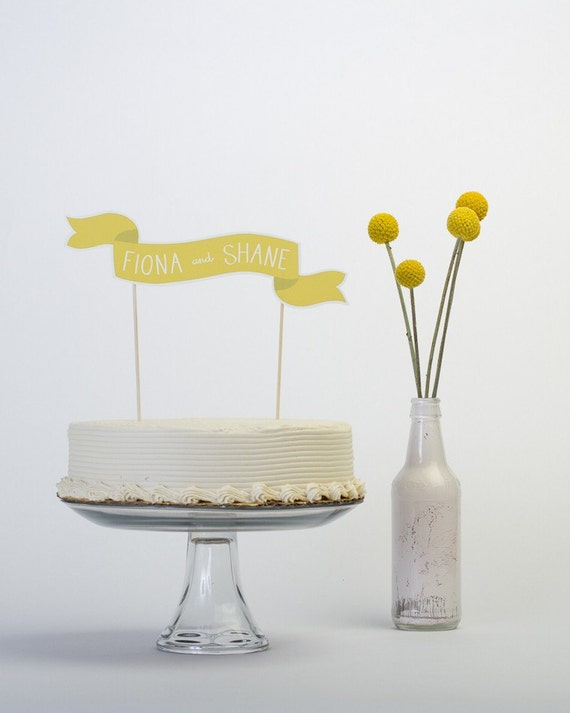 RESERVED - Custom Cake Banner No. 2 and small sign
