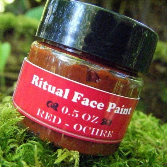 Red Ritual Face Paint - For rituals and healing ceremonies
