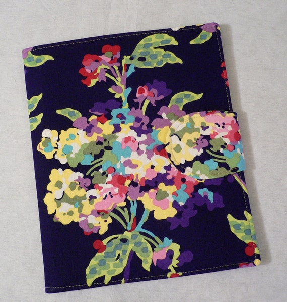 iPad Cover,  iPad2 Cover, Amy ButlerLove Water Bouquet Midnight