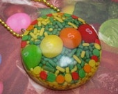 Skatters Skittle pendant NO chain included