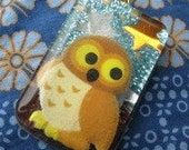 Hootie The Cutie resin necklace NO CHAIN