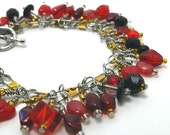 Lifeblood at Twilight.  A Fishers of Men Beaded Charm Bracelet