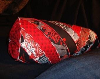 Asian inspired Neckroll pillow