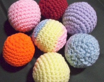 Cat Nip crocheted Balls