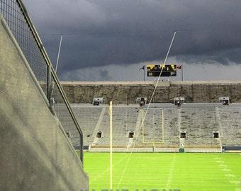 Notre Dame Stadium Evacuated 9-3-11 - fine art photography