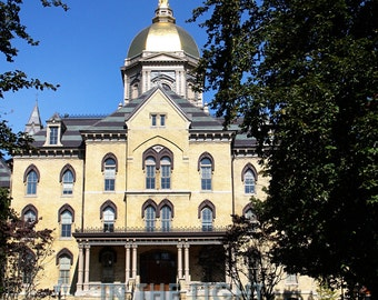 Golden Dome at University of Notre Dame 2 - Fine Art Photography