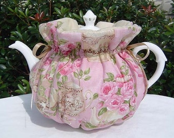 Tea Cozy for 6-8 Cup Teapot Insulated TEA FOR TWO Tea Pot Tea Cozy Cosy Also Available in 1-2 Cup and 2-4 Cup Sizes, Upon Request