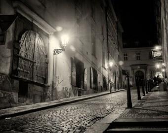 Streets of  Prague #8 - Silver Art Print - Czech Republic - Fine Art Photography -  Wall Art