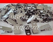 100 metal clips for id badge craft  pacifier holder business name tags wholesale lot