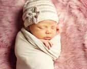 Baby Hat Knitting Pattern pdf EMILIE