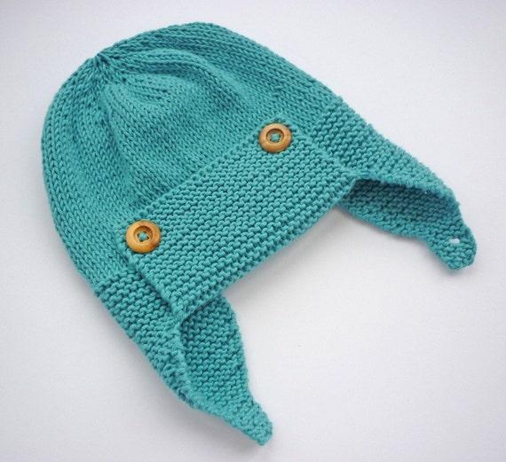 Baby Aviator Hat Knitting Pattern, Hat Pattern for Boys ...