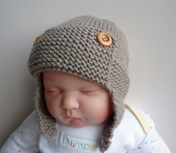 Crochet Pattern Baby Bunny Hat And Diaper Cover : Alfa img - Showing > Baby Aviator Hat Pattern